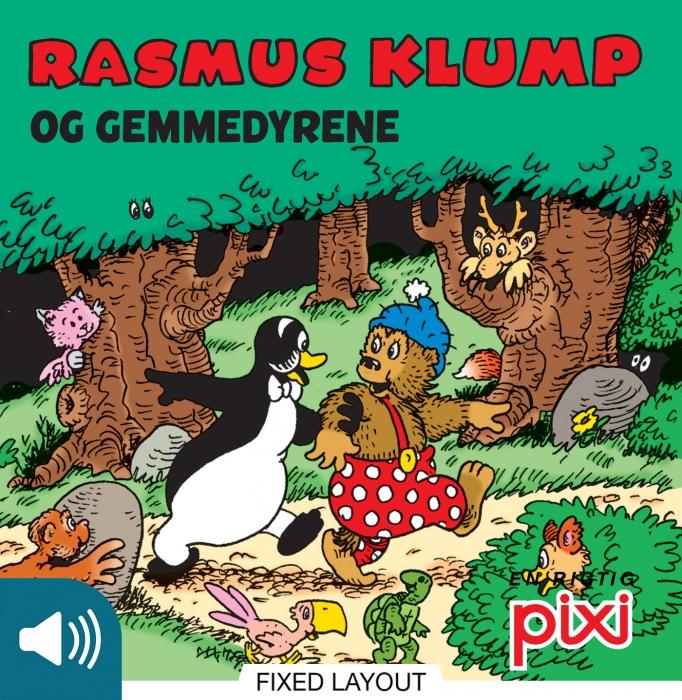 per sanderhage – Rasmus klump og gemmedyrene (e-bog) fra bogreolen.dk