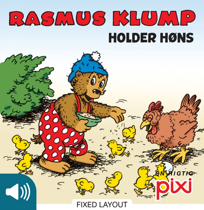 Rasmus klump holder høns (e-bog) fra per sanderhage på tales.dk