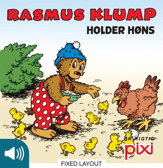 Rasmus klump holder høns (e-bog) fra per sanderhage fra bogreolen.dk