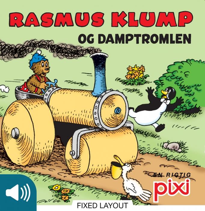 Rasmus klump og damptromlen (e-bog) fra per sanderhage fra bogreolen.dk