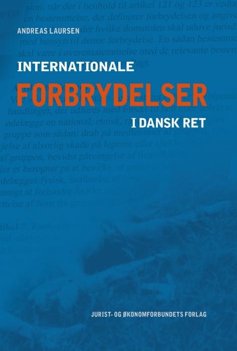Image of Internationale forbrydelser i dansk ret (E-bog)