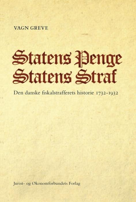 Statens penge statens straf (e-bog) fra vagn greve fra tales.dk
