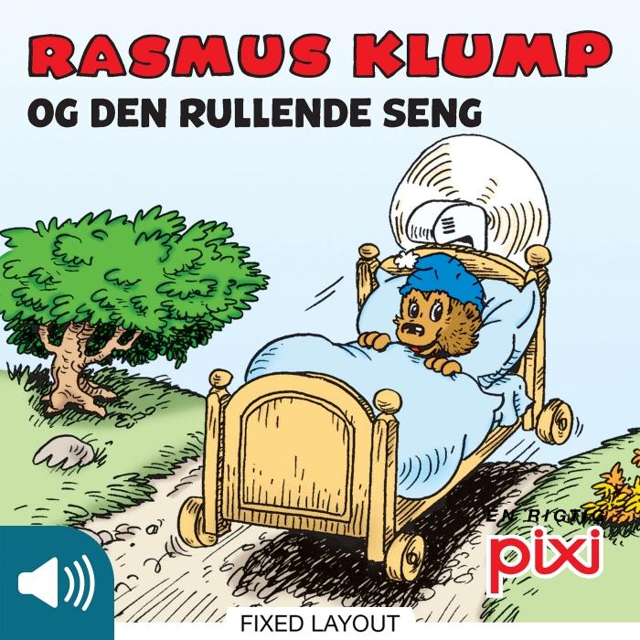 per sanderhage Rasmus klump og den rullende seng (e-bog) på bogreolen.dk