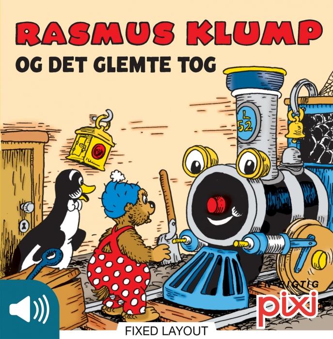 Rasmus klump og det glemte tog (e-bog) fra per sanderhage på bogreolen.dk