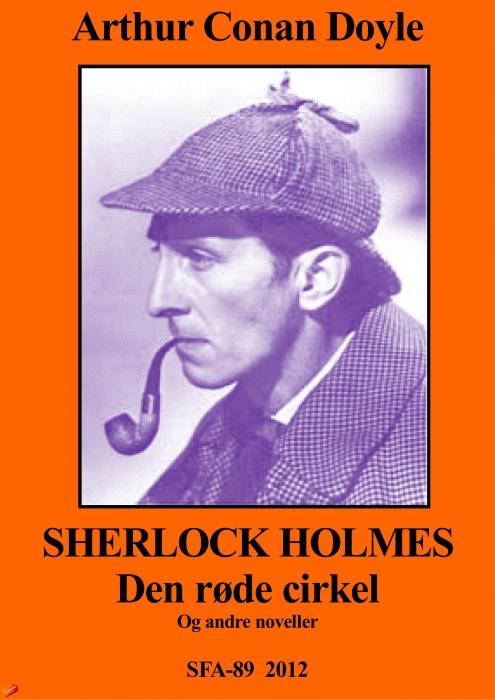Image of Sherlock Holmes, Den røde cirkel (E-bog)