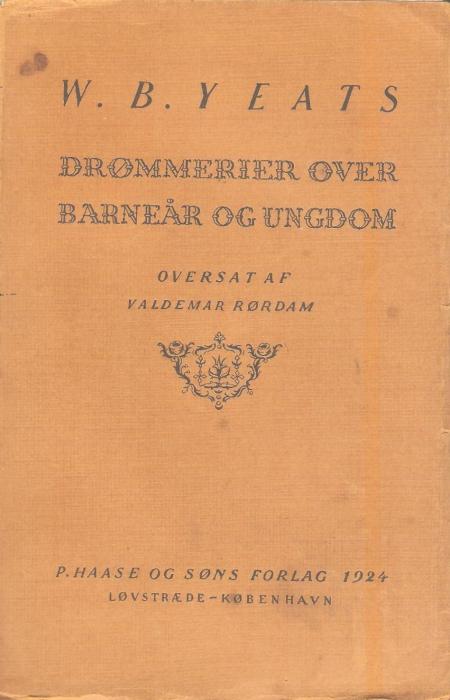 Drømmerier over barneår og ungdom (e-bog) fra w. b. yeats fra tales.dk