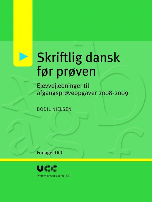 Image of   Skriftlig dansk før prøven (E-bog)