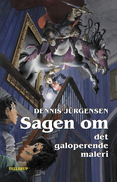 dennis jürgensen Spøgelseslinien #4: sagen om det galoperende maleri (e-bog) fra bogreolen.dk