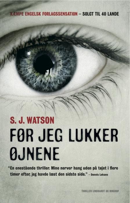s.j. watson Før jeg lukker øjnene (e-bog) på bogreolen.dk