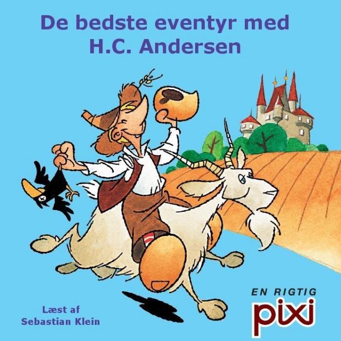 h.c. andersen – De bedste eventyr med h.c. andersen (lydbog) på bogreolen.dk