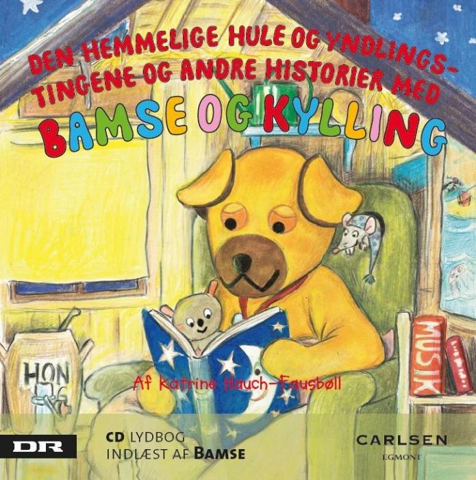 Bamse 1 - Den hemmelige hule og yndlingstingene (Lydbog)