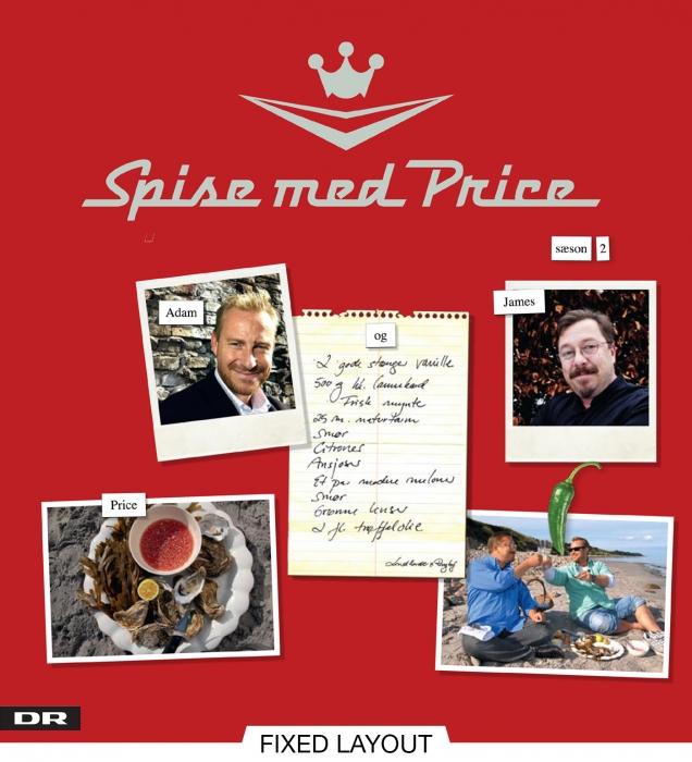 Spise med price - sæson 2 (e-bog) fra adam price på bogreolen.dk