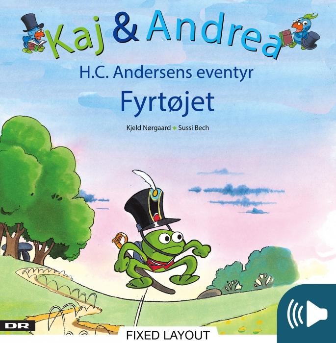 Kaj & andrea - fyrtøjet (e-bog) fra kjeld nørgaard fra bogreolen.dk