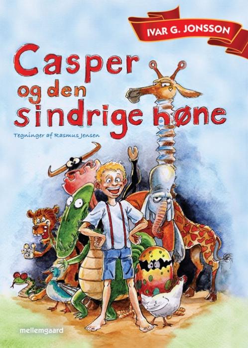 Casper og den sindrige høne (e-bog) fra ivar g.  jonsson fra bogreolen.dk