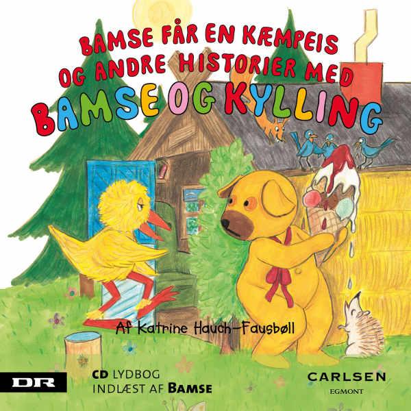 katrine hauch-fausbøll Bamse 5 - bamse får en kæmpeis (lydbog) fra bogreolen.dk