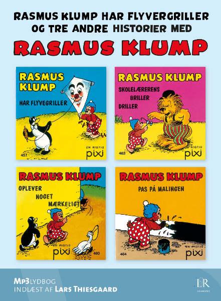 per sanderhage Rasmus klump har flyvergriller - og tre andre historier (lydbog) på bogreolen.dk