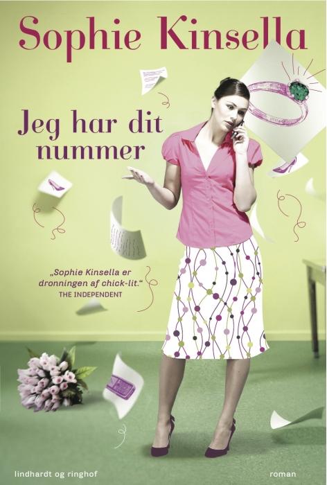 sophie kinsella Jeg har dit nummer (e-bog) på bogreolen.dk