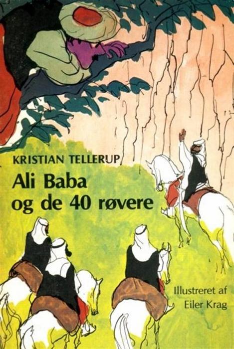 kristian tellerup Ali baba og de 40 røvere (lydbog) fra bogreolen.dk