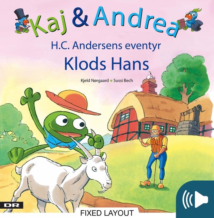 Kaj & andrea - klods hans (e-bog) fra kjeld nørgaard på bogreolen.dk