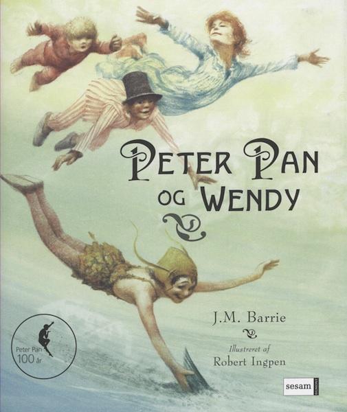 Peter pan og wendy (lydbog) fra j.m. barrie fra bogreolen.dk