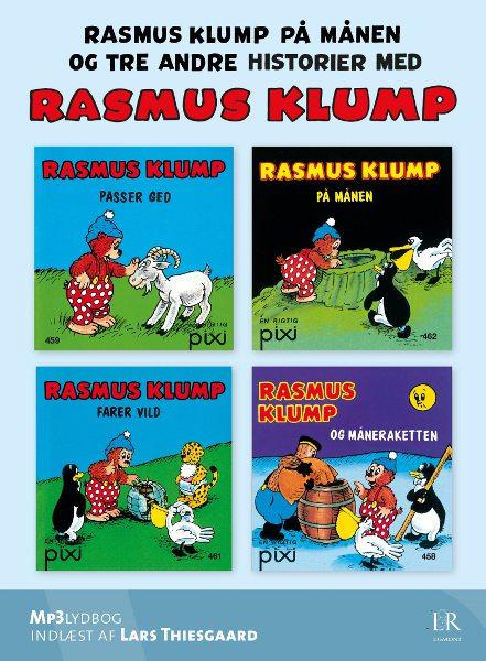 per sanderhage Rasmus klump på månen - og tre andre historier (lydbog) på bogreolen.dk