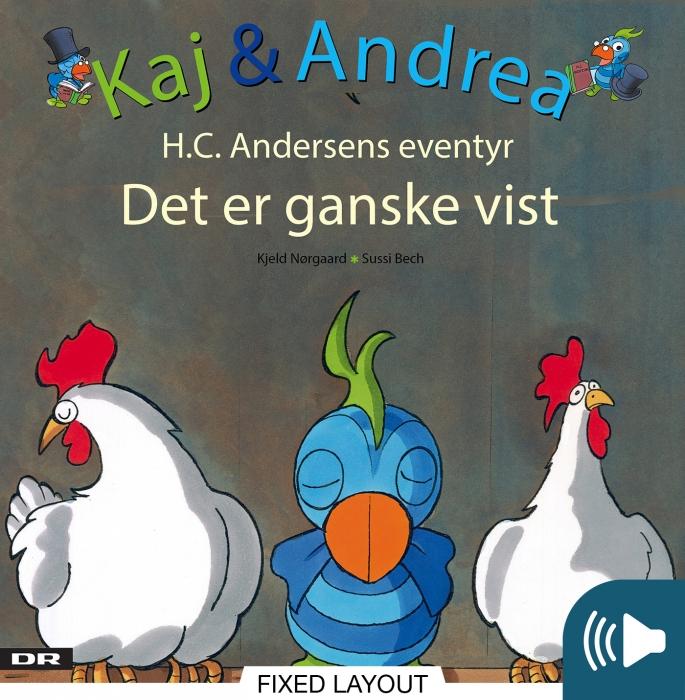 Kaj & andrea - det er ganske vist (e-bog) fra kjeld nørgaard fra bogreolen.dk
