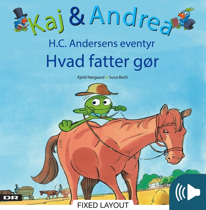 Kaj & andrea - hvad fatter gør (e-bog) fra kjeld nørgaard på bogreolen.dk