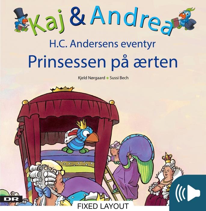 kjeld nørgaard – Kaj & andrea - prinsessen på ærten (e-bog) fra bogreolen.dk
