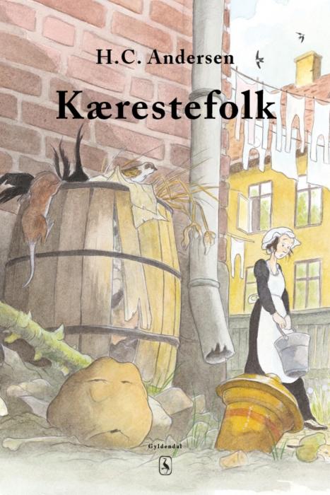 h. c. andersen Kærestefolkene (e-bog) på bogreolen.dk