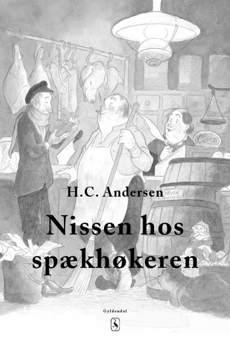 h. c. andersen Nissen hos spækhøkeren (e-bog) fra bogreolen.dk
