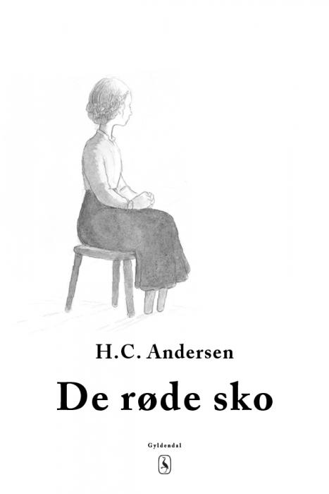 h. c. andersen De røde sko (e-bog) fra bogreolen.dk