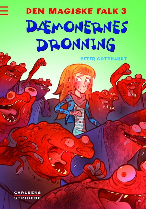 Den magiske falk 3: dæmonernes dronning (e-bog) fra peter gotthardt på bogreolen.dk