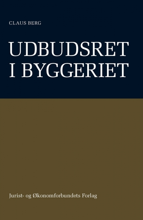 claus berg – Udbudsret i byggeriet (e-bog) på bogreolen.dk