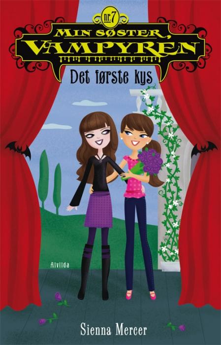 sienna mercer – Min søster, vampyren 7: det første kys (e-bog) fra bogreolen.dk