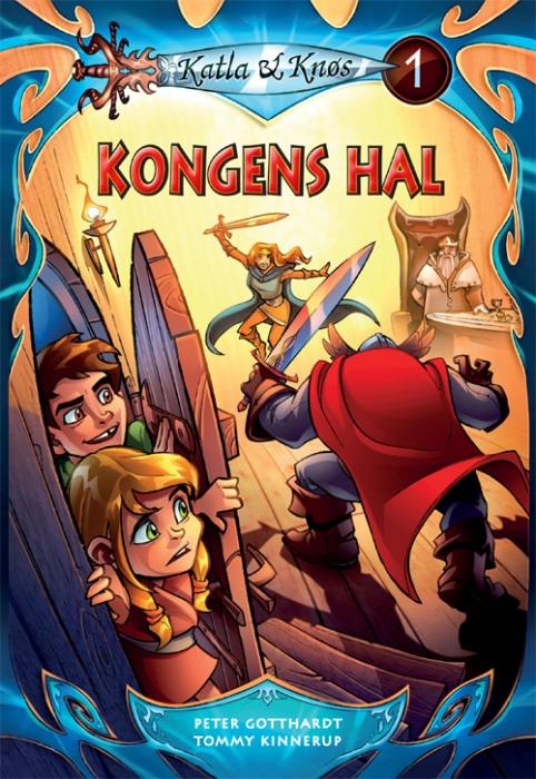peter gotthardt Katla og knøs 1: kongens hal (e-bog) fra bogreolen.dk