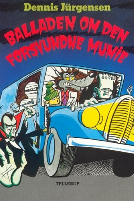 Freddy-serien #1: Balladen om den forsvundne mumie (E-bog)