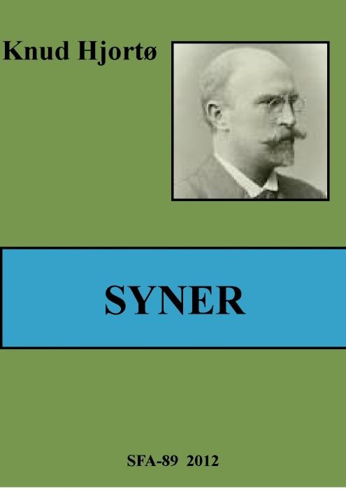 Syner (e-bog) fra knud hjortø på bogreolen.dk