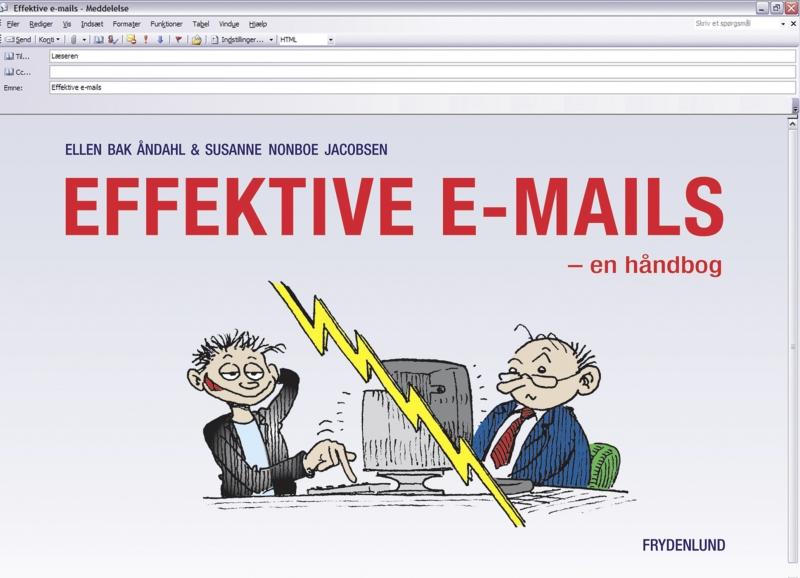 susanne  nonboe jacobsen – Effektive e-mails (e-bog) på bogreolen.dk