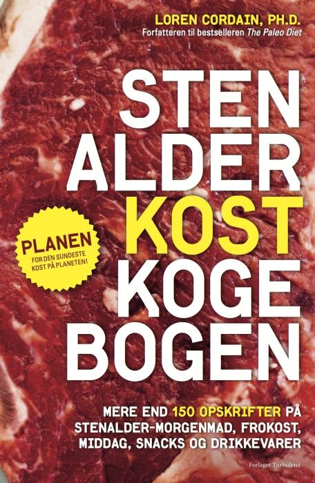 Stenalderkost kogebog (e-bog) fra loren cordain på bogreolen.dk