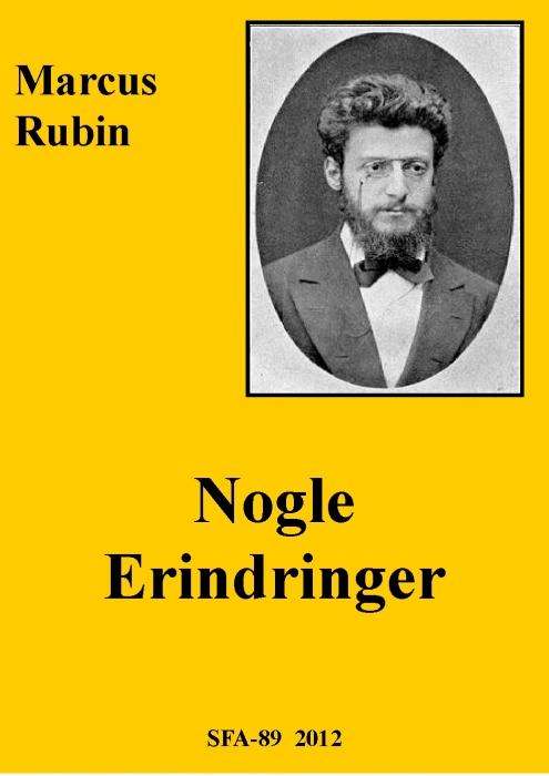 marcus rubin Nogle erindringer (e-bog) fra bogreolen.dk