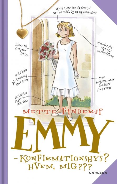 Emmy 0 - konfirmationshys? hvem, mig??? (lydbog) fra mette finderup fra tales.dk