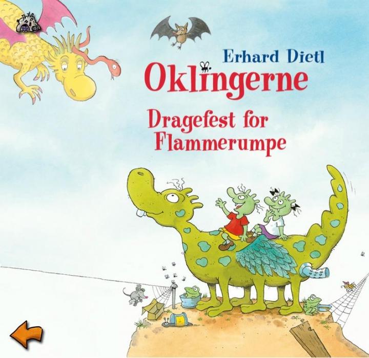 Oklingerne - en dragefest for flammerumpe (lydbog) fra erhard dietl på bogreolen.dk