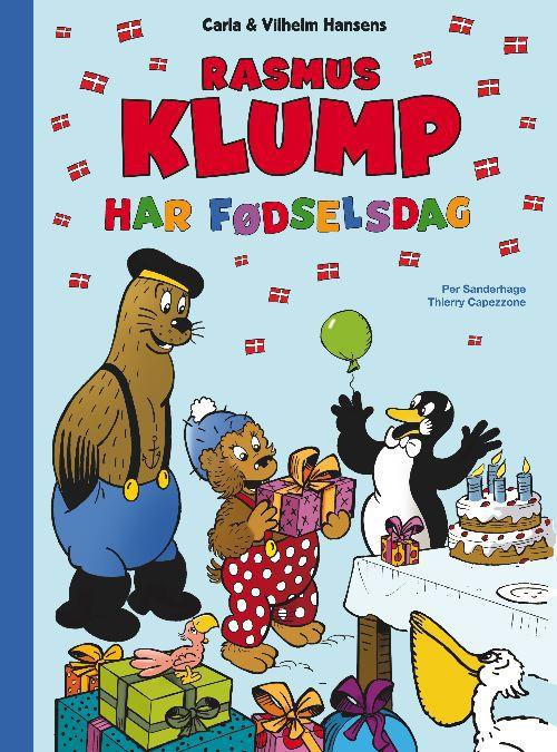 Rasmus klump har fødselsdag (lydbog) fra per sanderhage fra bogreolen.dk