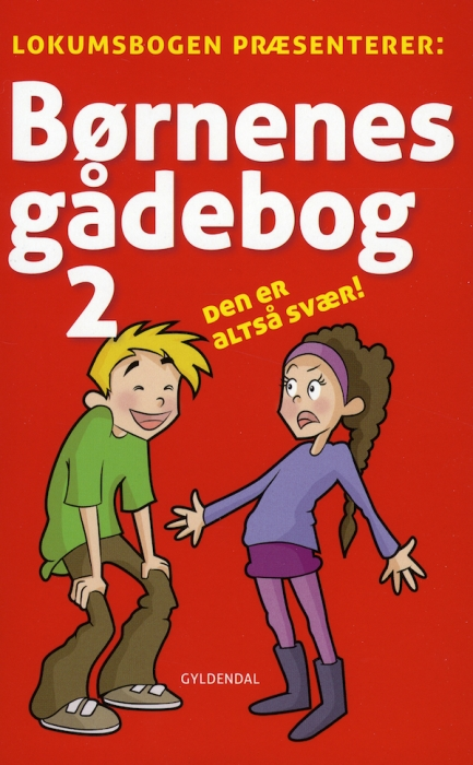 Børnenes gådebog 2 (e-bog) fra sten wijkman kjærsgaard fra bogreolen.dk