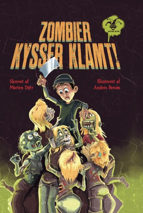 morten dürr Zombier kysser klamt! (e-bog) fra bogreolen.dk