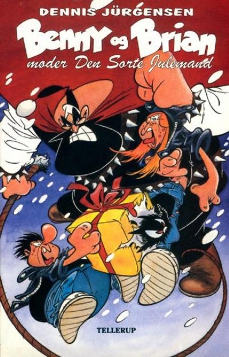 Benny og brian møder den sorte julemand (e-bog) fra dennis jürgensen fra bogreolen.dk