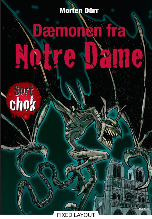 morten dürr – Dæmonen fra notre dame (e-bog) på bogreolen.dk