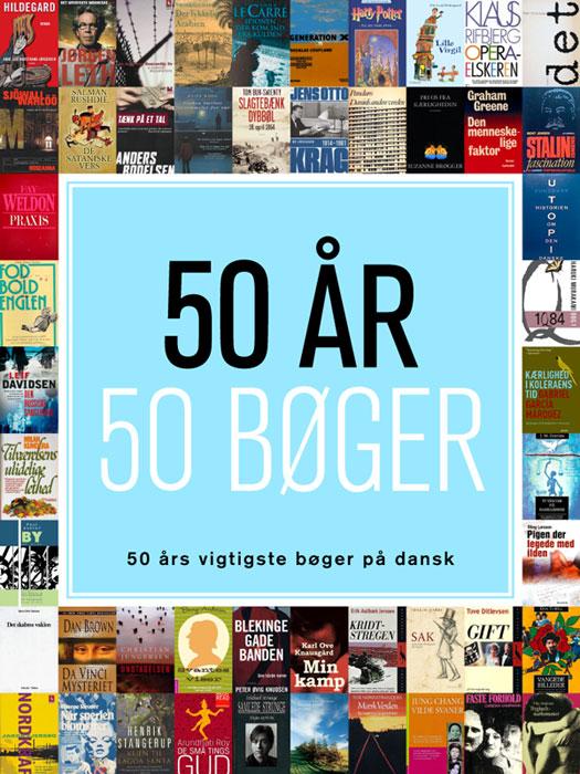 Image of   50 år - 50 bøger (E-bog)