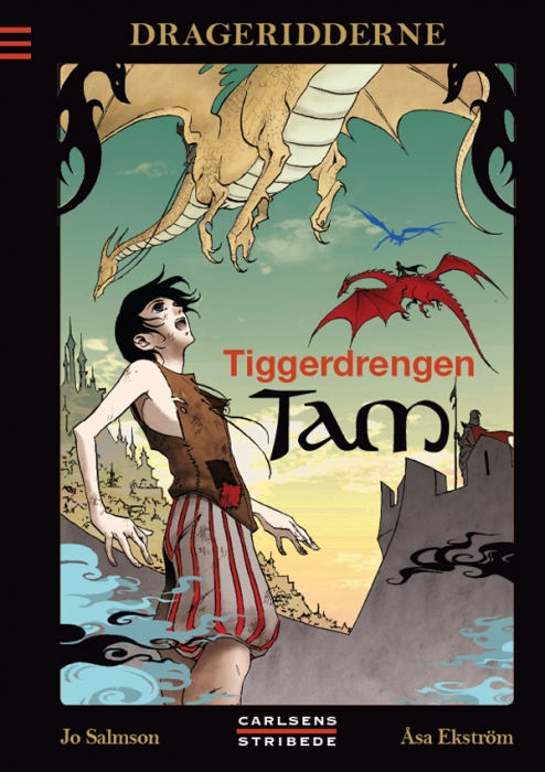 Drageridderne 1: Tiggerdrengen Tam (E-bog)