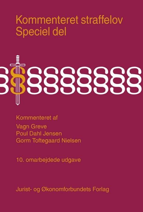vagn greve – Kommenteret straffelov. speciel del (e-bog) fra bogreolen.dk